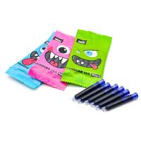 小白点文具 M06-1 换囊钢笔墨囊 袋装可擦蓝色墨水钢笔水笔囊可替换墨水胆非碳素进口墨水灌装男女孩童小学生专用 当当