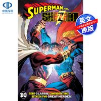 英文原版 Superman vs Shazam 超人vs沙赞 格里・康威 Gerry Conway DC系列 漫画小说