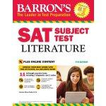 Barron's SAT Subject Test Literature, 7th Edition 英文原版 巴朗SA