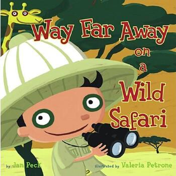 【预订】Way Far Away on a Wild Safari 预订商品,需要1-3个月发货,非质量问题不接受退换货。