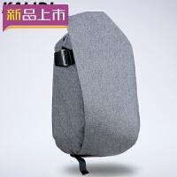 2018外星人未来人类微星雷神笔记本双肩电脑包.6/寸防盗背包 浅灰色 .6英寸