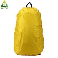 �敉怆p肩包登山包防雨罩 背包防雨套防雨帽��包拉�U箱��包防雨罩