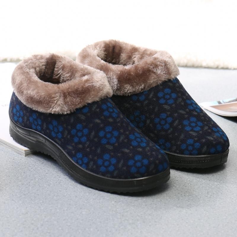 20190128115630380冬季老北京布鞋女鞋高帮防滑保暖棉鞋老年人鞋子厚底中老人妈妈鞋   走进大自然的怀抱,美丽从这里起步。