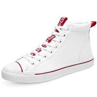小白鞋男鞋秋季新款韩版潮流休闲鞋英伦白色板鞋男士百搭运动板鞋