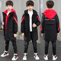 男童棉衣 中长款童装外套秋冬季儿童