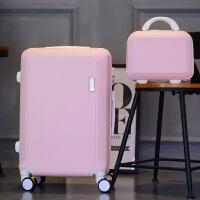 新款行李箱24寸大学生拉杆箱韩版28大容量旅行箱男小清新密码箱