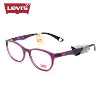 Levis李维斯圆框眼镜架潮 配男女眼镜框 超轻复古近视眼睛LS06207
