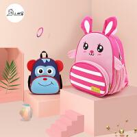 幼儿园书包男宝宝1-3-6岁可爱小孩包包儿童双肩包女童防走失背包