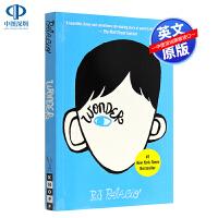 英文原版 奇迹男孩 Wonder 全英文版同名电影原著小说 青春励志畅销书 儿童青少年文学读物 可搭 flipped怦然