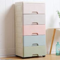 家居生活用品花尔衣物收纳柜简易衣橱储物箱收纳箱抽屉式加厚塑料宝宝衣柜儿童