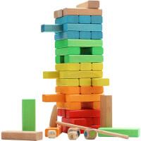 三只松鼠益智儿童玩具男女孩4-6积木玩具1-2周岁拼装3-5岁早教
