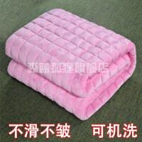 毛毯被子单人宿舍学生法兰绒毯子加厚冬季女生床单1.2米小铺床盖