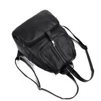 潮韩版时尚女士双肩包休闲旅行背包 双层设计【款式一】