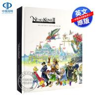 现货英文原版 二之国2:幽灵国度指南游戏艺术书 精装收藏版 Ni no Kuni II: Revenant Kingdo