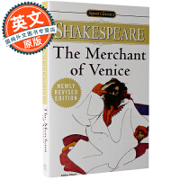 威尼斯商人 英文原版 The Merchant of Venice 讽刺喜剧小说 William Shakespear