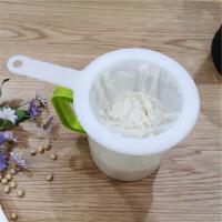 豆浆果汁超细过滤网筛厨房破壁机120目无渣滤网美的套装神器漏勺