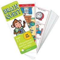 My First Brain Quest 智力开发卡片书【 2-3岁】