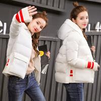 冬季短款棉衣女2018新款韩版加厚冬天宽松学生面包服棉袄外套