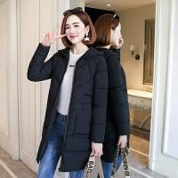 反季秋冬季个性时尚棉衣女中长款学生韩版修身女装外套