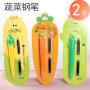 一正蔬菜形状钢笔韩国文具创意系小清新学生钢笔可替换墨囊钢笔胡萝卜 玉米 菠萝 仙人掌