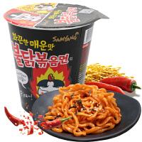 三养火鸡面70g*5杯装干拌面 韩国进口方便面泡面芝士面酱面拉面速食零食