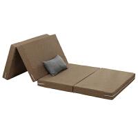 夏季折叠地铺睡垫榻榻米床垫加厚办公室午睡垫夏天打地铺单人