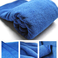 20180825105129698汽车洗车毛巾擦车毛巾 车巾超细纤维吸水 打蜡毛巾 汽车擦车巾