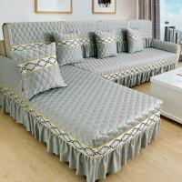 夏季沙发垫四季通用布艺防滑坐垫简约现代沙发套全包套罩全盖订做