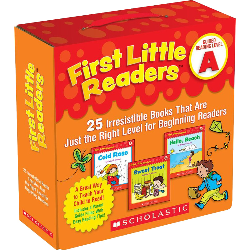 First Little Readers Parent Pack: Guided Reading Level A 小读者系列家长指导阅读套装Level A ISBN9780545231497