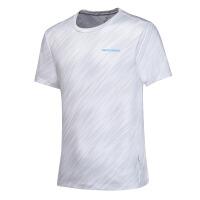 361度男装夏季新款男子运动休闲透气短袖361圆领短T恤