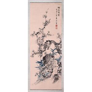 著名将领  李宗仁《梅竹双馨》