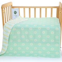 婴儿浴巾六层棉纱布盖被新生儿抱被宝宝被子儿童盖毯幼儿园毯子