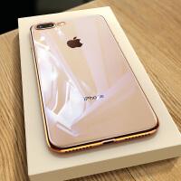 iPhone8手�C�ぬO果8plus套8p透明硅�z新款�iPhonese全包防摔八超薄女7plus潮牌男se2玻璃i8��性