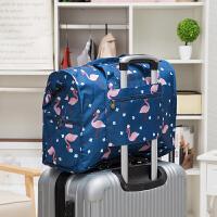 旅行折叠手提包拉杆衣物整理袋斜挎包单肩包出差收纳袋大容量韩版 大