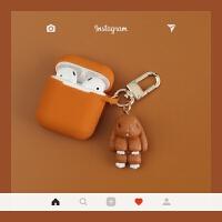 装死兔苹果airpods保护套韩国卡通iphone无线蓝牙耳机盒子壳防摔