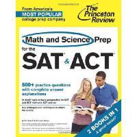 【预订】Math and Science Prep for the SAT & ACT: 2 Books in 1