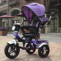 多功能儿童三轮车脚踏车手推车宝宝婴儿自行车童车