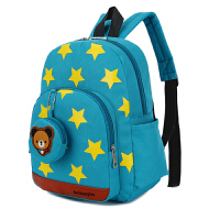 儿童书包幼儿园女童男童卡通动漫双拉链小朋友2-3-5岁双肩背包