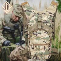 战术背包男女户外骑行短途迷你徒步登山包迷彩双肩包 15L
