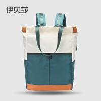 尼龙双肩包女新款2019韩版单肩大学生书包女士电脑包百搭旅行背包