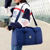 新款旅行包袋 水洗尼龙布料行李包 时尚休闲大容量男女运动包