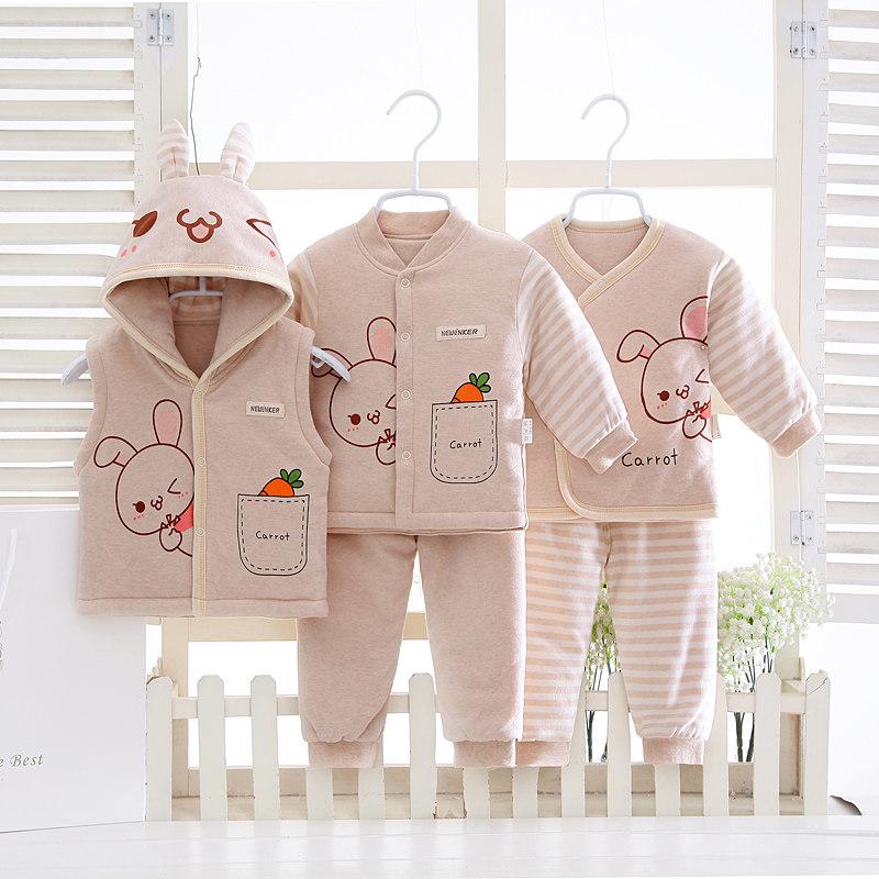 婴儿礼盒棉衣满月新生儿衣服秋冬季中厚宝宝衣服满月礼物 发货周期:一般在付款后2-90天左右发货,具体发货时间请以与客服协商的时间为准