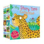 英文原版儿童故事绘本 My Story Time Collection 经典动物童话故事 小学生英语绘本读物 20册套