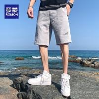 罗蒙男士休闲短裤夏季清凉短裤五分裤时尚潮流青年