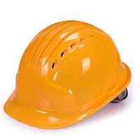 【支持礼品卡】五筋abs安全帽工地施工反光条领导电力建筑工程头盔透气劳保男女4ft