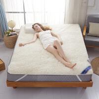 羊毛床垫冬季加厚保暖羊毛绒床褥子垫被 / 加