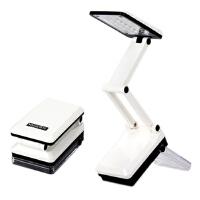 雅格LED台灯 学习阅读台灯USB充电夹子象牙白小台灯学生灯卧室床头写字灯 YG-5908  白色