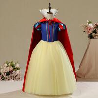 白雪公主裙子连衣裙儿童服装女童迪士尼化妆舞会礼服六一装扮演出