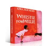 英文原版进口 Whistle For Willie彼得的口哨 儿童启蒙纸板书