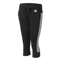 Adidas阿迪达斯女裤 运动休闲中裤七分裤短裤 S97107